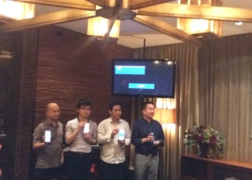 Para Petinggi PT ZTE Indonesia memperkenalkan ZTE Blade S6
