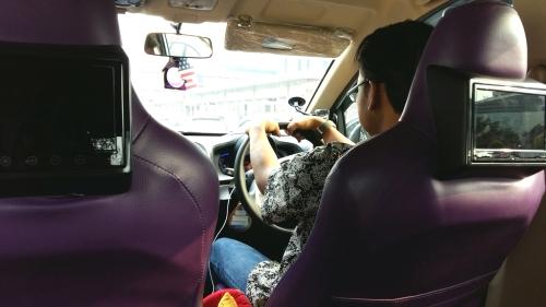 Kondisi dalam Mobil Uber Taxi Jakarta