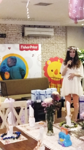 Cathy Sharon as Fisher Price Brand Ambassador