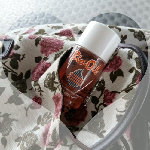 Bio Oil, anywhere and anytime.