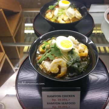 ramyeon seafood